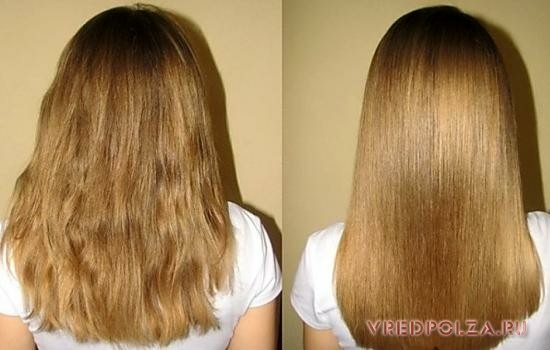 Польза желатина для волос