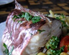 креветочная рыба конгрио популярный рецепт