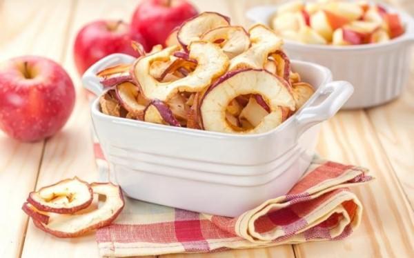 калорийность сушеных яблок