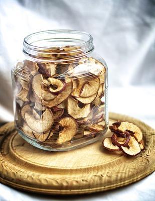 сушеные яблоки калорийность